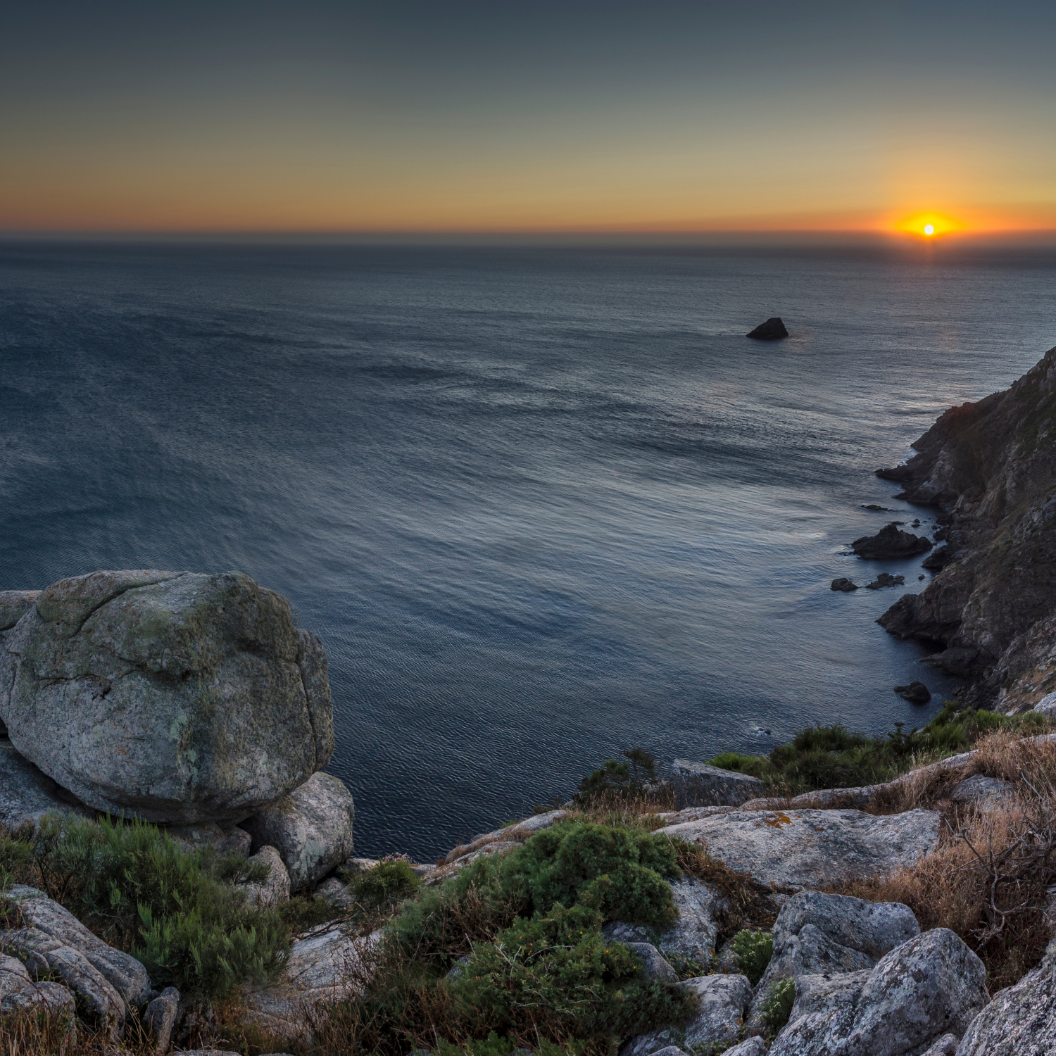 How to navigate to the Finisterre-Muxia route on Camino for Good app