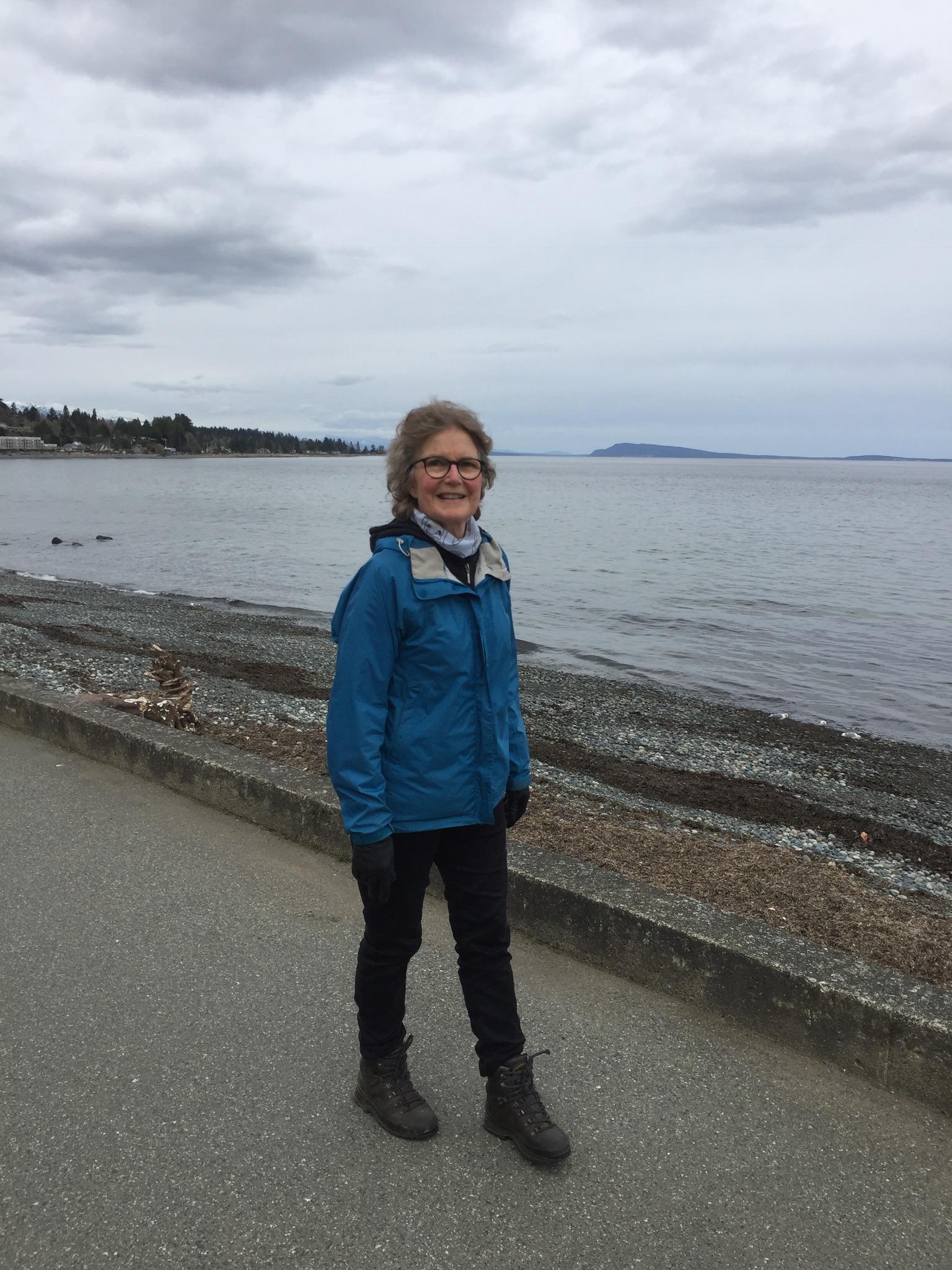Marsha Bergen finds hope and healing in daily walking, rain or shine